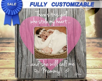 New Mommy Picture Frame for New Mom Gift Mothers Day Gift From Daughter To Mommy Gift First Mothers Day Custom Frame Pregnancy Ultrasound