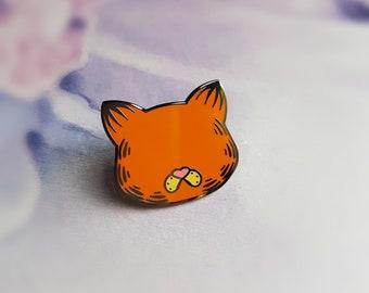 Lasagne Lover Cat - Hard Enamel pin