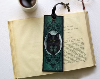 Handmade lovely Ino - illustrated, laminated, bookmark