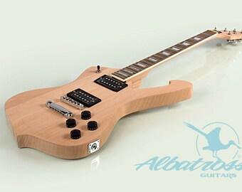 DIY Guitar Kit Bolt On Neck Solid Mahogany Body Neck GK039