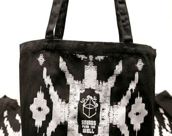 ZAMZAM SOUNDS Record Tote Bag // Recycled Cotton // Tuff // Take Care of your precious vinyl
