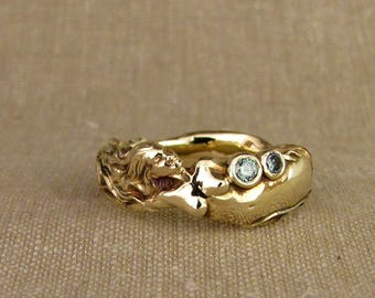 Mermaid Ring (14K) Made to order