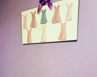 Origami Dress Canvas