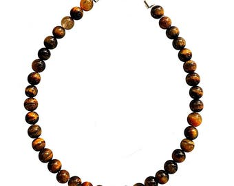 Bracelet Tiger eye beads 4mm