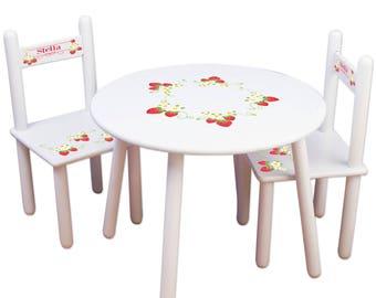 Custom kids table   Etsy