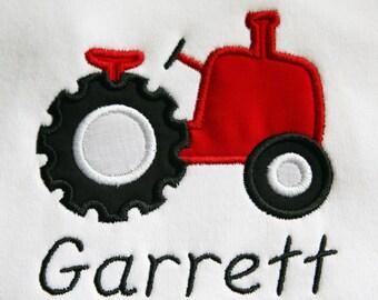 Tractor Applique Shirt