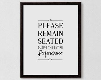 Charmant Funny Bathroom Signs | Etsy