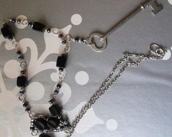 Glamour Girl Skeleton Key Necklace