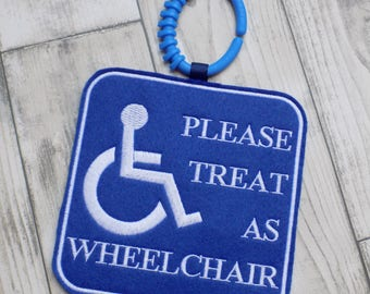 treat as wheelchair sign, disability awareness, wheelchair buggy clip, hidden disabilities, disabled sign, special needs, additional needs