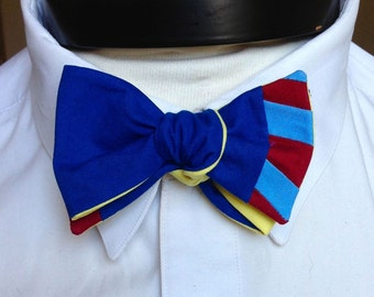The Walt - Our Disney Inspired bowtie in Snow White colors
