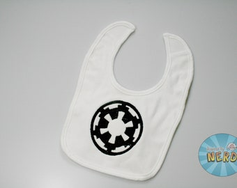 Imperial Command Inspired Baby Bib