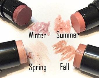 CHEEK TINT Organic Face Color - Natural Cheek Blush - Gluten Free Vegan Makeup - Multi-Tasking Makeup Highlighter