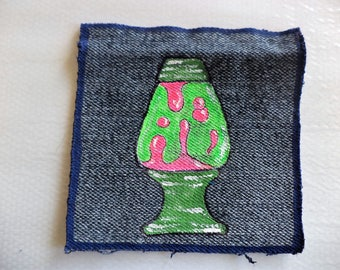 Lava Lamp,Lava Lamp Art, Sew on Patch ,Hippie Patch,Patches Hippie,Groovy Patches, Patches for backpacks,patches for denim jackets,