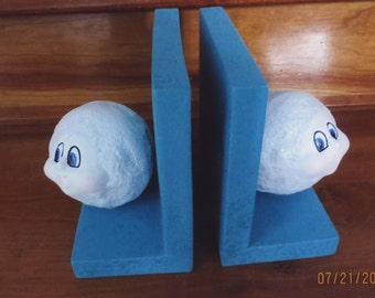 Snow ball bookends