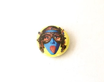 Tank Girl 1inch Pinback Button  or Magnet