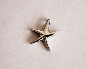 925 Silver Star Fish Pendant