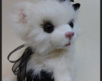Diva Stoffpuppe Katze oder Hund ebook zum selber nähen   stehend 45 cm hoch