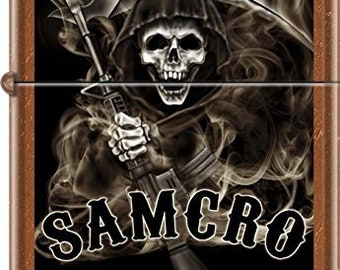 Sons of Anarchy Sancro Toffee Zippo Lighter