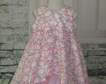 "Perfect ceremony dress ""La ronde flowers"""