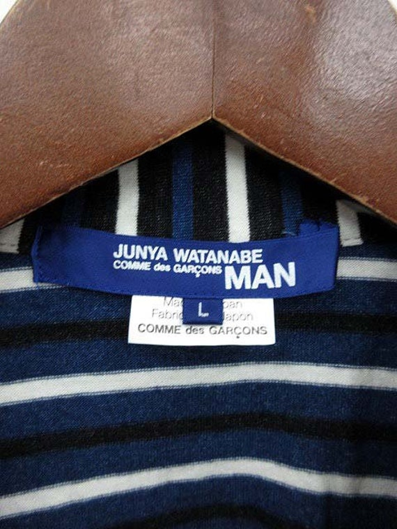 Shirt Junya Stripes Watanabe Garcons Comme Des Large Navy ZqvYFqBP
