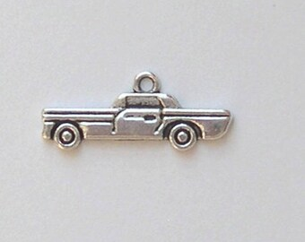 4 American car charms in silver