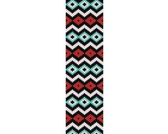 Navajo Peyote Cuff Bracelet Pattern
