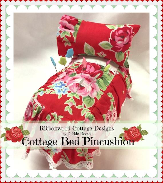 """PDF  Pincushion Cottage Bed 3"""" x 5"""""""