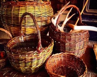 Custom willow basket