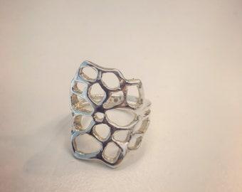 Flower ring,  floral ring,