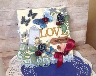 Love Hand-made Scrapbooks