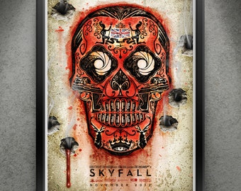 "Skyfall - ""Think On Your Sins"" 13x19"