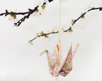 Exquisite Origami Paper Crane hanging decor - Peace Crane Gift - Origami crane - Thank you - Congratulations - Anniversary - Get well -#B1HG