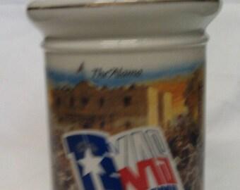 Sesquicentennial  The Alamo Texas 1836-1986 Decanter