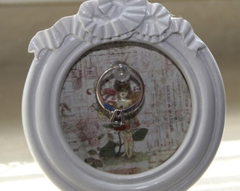 Clearance  Sale***Picture Frame Ring Holder