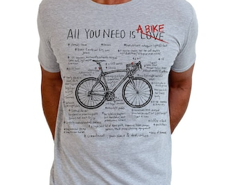 All You Need - Men's Cycling T Shirt Gifts For Cyclists