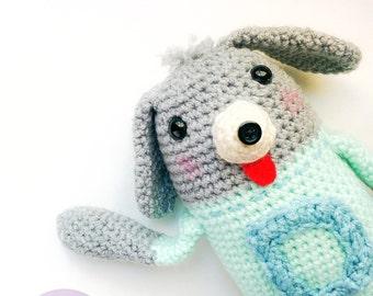 Danny the Dog / Amigurumi Puppy / Crochet Doll / Plush / Dog / Stuffed Animal / Birthday Gift / Holiday Gift / Dog Lover / Handmade