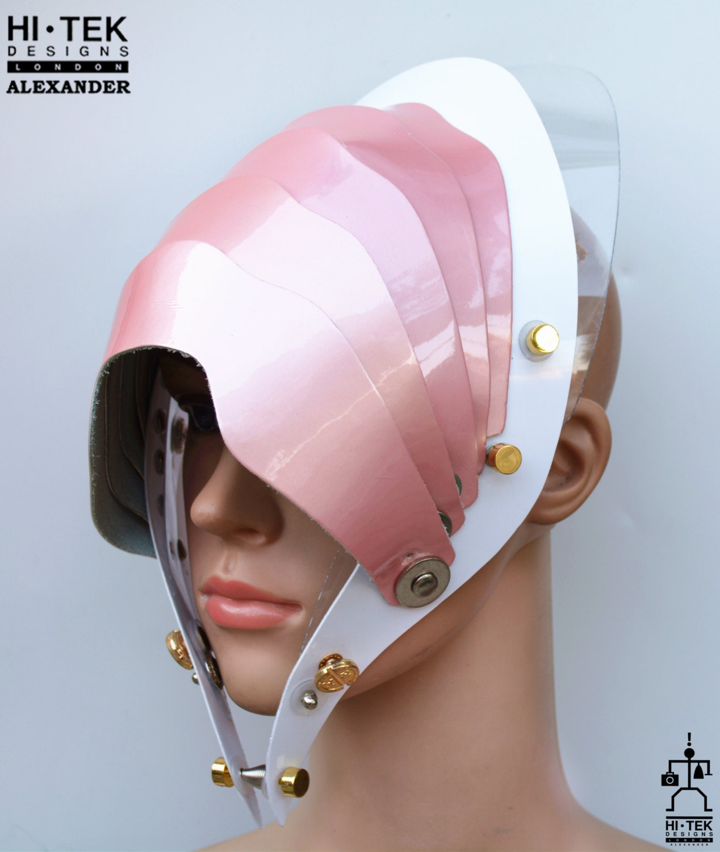 Hi Tek Alexander handmade modern futuristic sci fi gothic