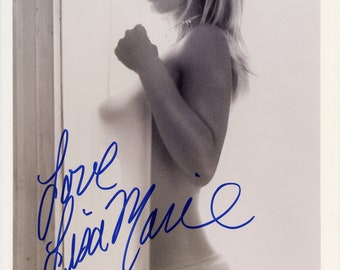 Celebrity **** Lisa Marie Topless Photograph *Signed*