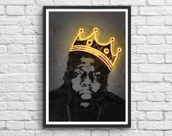 Art-Poster 50 x 70 cm Limited Edition 50 ex. - King Notorious BIG