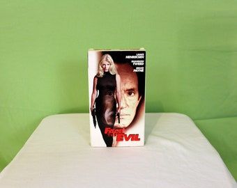 Face The Evil VHS Tape. Cult Classic Raunchy Sex B Movie. Shannon Tweed Sex Movie. 90s Lance Henriksen Cult Classic Skinemax Erotic Thriller