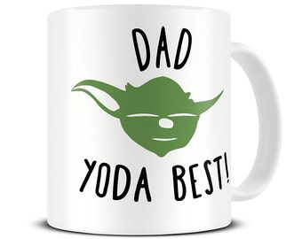 Dad Yoda Best Coffee Mug - Dad Mug - Gift for Dad - Father's Day Gift - Funny Mug - Coffee Mug - MG349