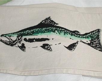 Wild  Salmon towel flour sack