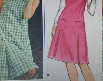 Vintage Butterick 3397 Sewing Pattern One-Piece Dress