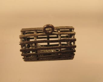 Lobster Pot Full Figure  Charm  925 + Lobster @ A Village Coin Bullion 11/10/8 B