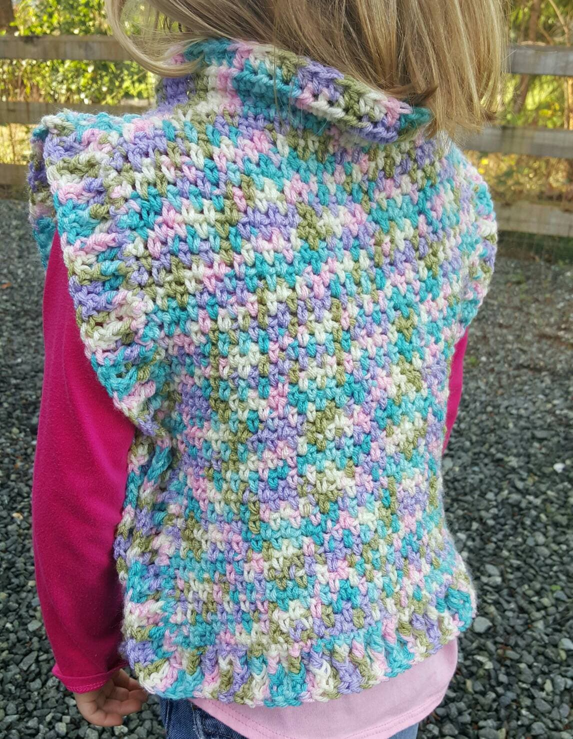 Dorable Easy Crochet Poncho Pattern For Children Picture Collection ...