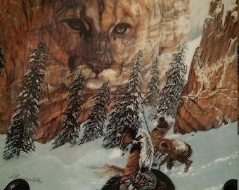 "The Faces of Nature  ""Canyon of the Cat"" 1992 Collector Plate"