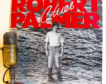 "Robert Palmer Vinyl Record Album Lp Vintage 1980s SynthPop Soul Rock and Roll New Wave ""Clues"" (1980 Island w/""Looking For Clues"")"