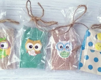 cute pouches - coin pouches - owls - jewelry pouches - coin bags - jewelry pouches - coin storage - jewelery storage  - kids wallet