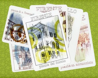 Italy Postcards: Pack of 5