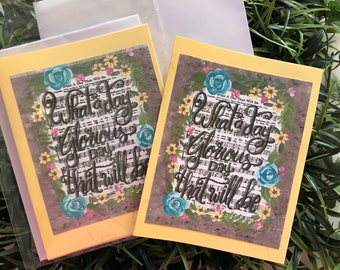 What a Day That will Be  Notecards pkg of 4